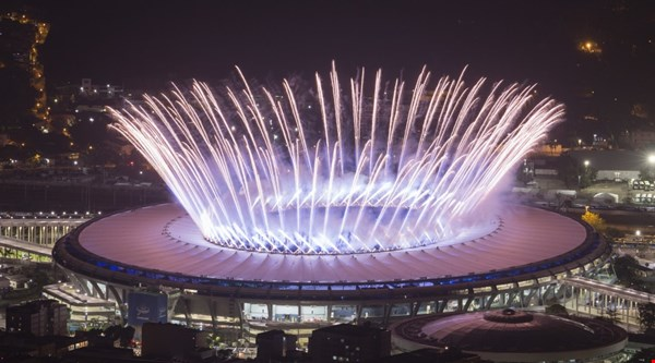 Rio 2016: Spectacular images from the Olympics opening ceremony