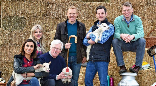 Countryfile's Adam Henson and Tom Heap have a hay bale rolling contest – but who won?