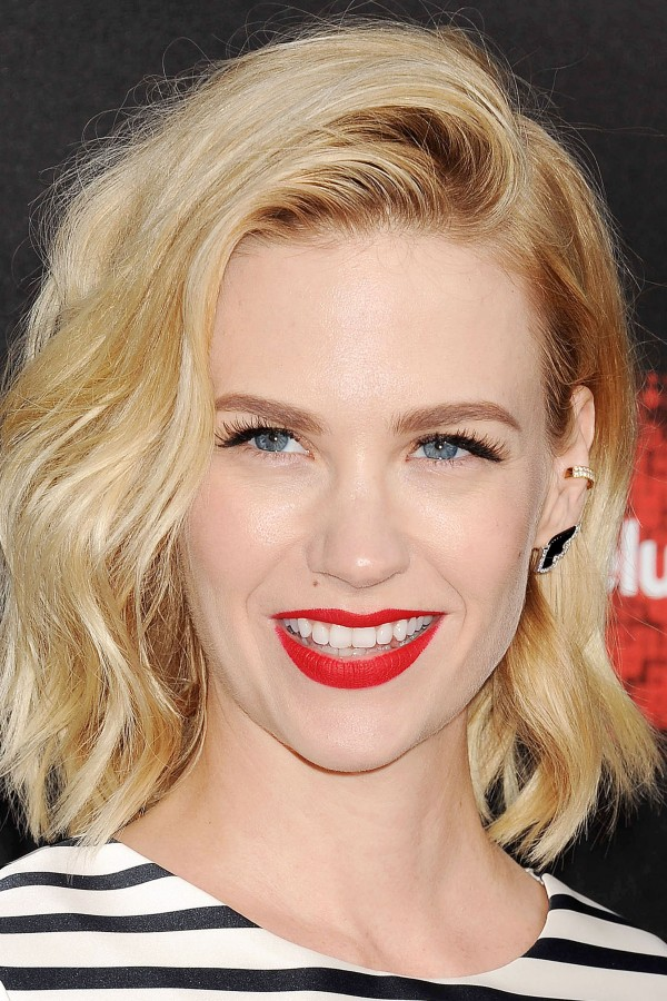 January Jones On Changing Hair Colour And Copying Kate Moss
