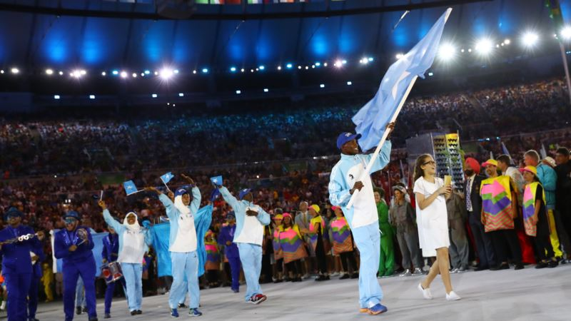 Emotions Mixed for Two-Person Somali Olympic Team