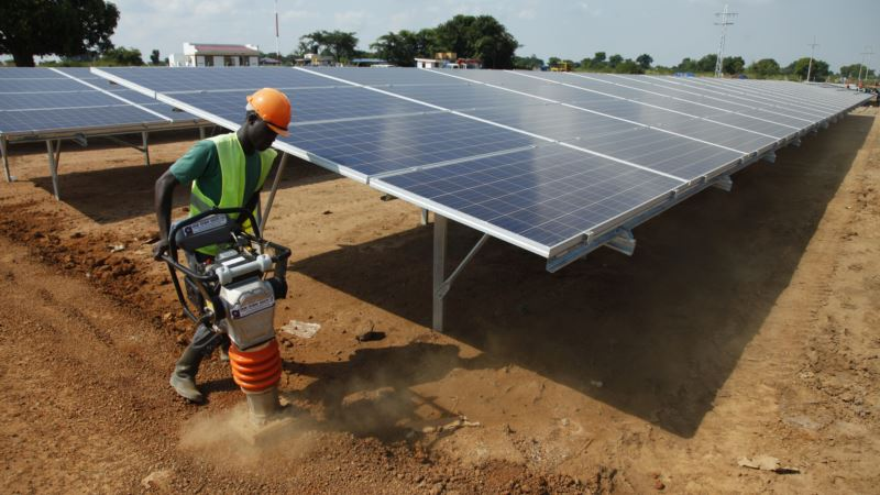 In Uganda, Solar Power Plant Amid African Bush Inspires Hope
