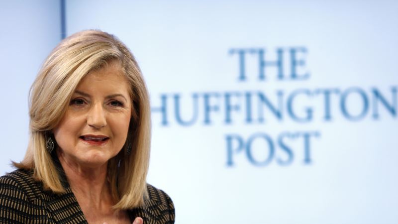 Arianna Huffington signs off at The Huffington Post