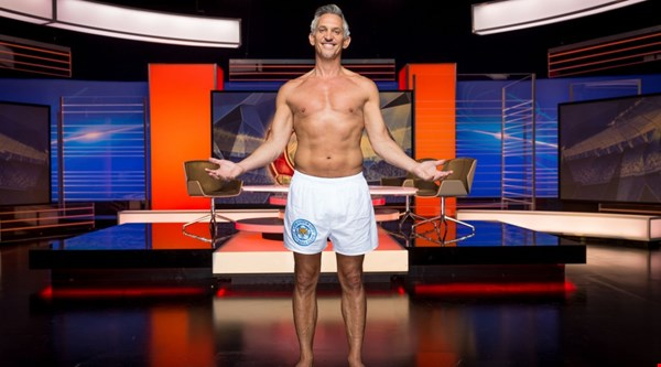 Gary Lineker stuck to his word and actually presented Match Of The Day in his pants – or were they just shorts?