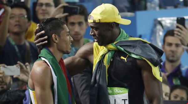 Usain Bolt's reaction to Wayde van Niekerk's 400m world record is sportsmanship at its best