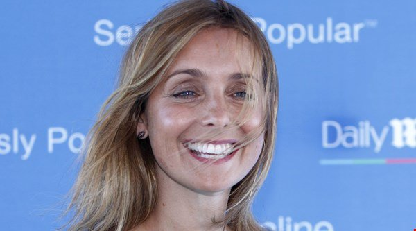 Strictly hopeful Louise Redknapp works on her moves – with her dog