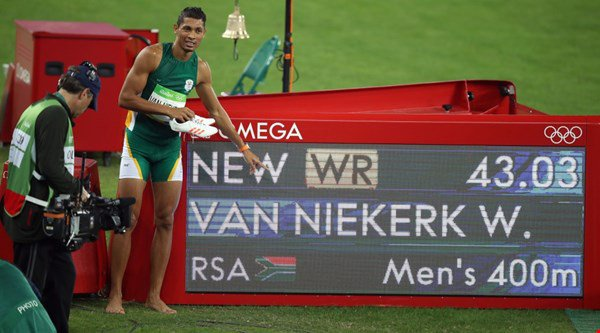 The coach of 400m superstar Wayde van Niekerk is a 74-year-old great-grandmother