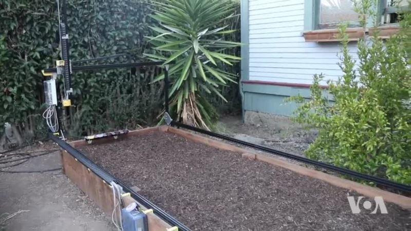 Robot Takes Away Pain of Gardening