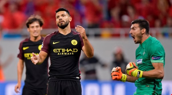 Sergio Aguero missed two penalties and every single football fan made the same joke