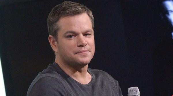 Return of the man bun: Matt Damon doesn't look like this any more…