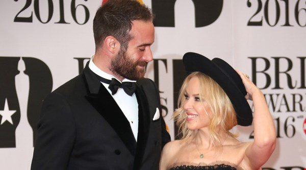 Joshua Sasse gushes over bride-to-be Kylie Minogue and likens her to a fairy