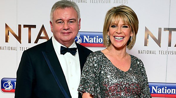 Eamonn Holmes and Ruth Langsford couldn't help but flirt on This Morning
