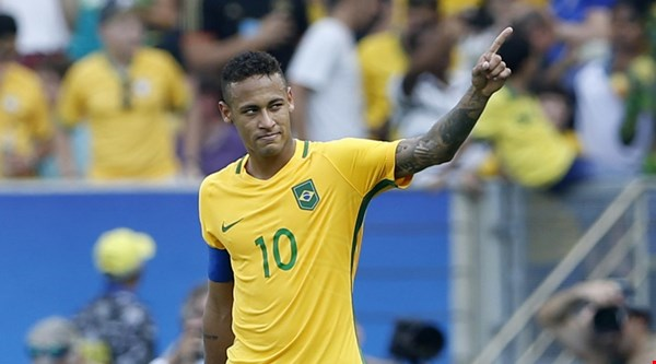 There's a lot of love for Neymar after this goal became the quickest in Olympic history