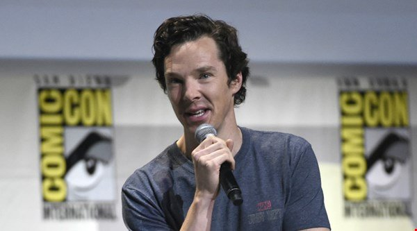 Benedict Cumberbatch donates David Bowie T-shirt in aid of Prevent Breast Cancer