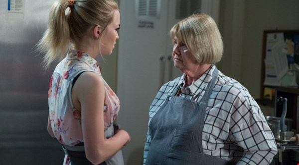 EastEnders' Aunt Babe locked in the freezer – who called Abi as ice queen?