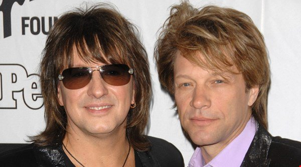Richie Sambora and Jon Bon Jovi put feud rumours to rest with well wishes on Twitter