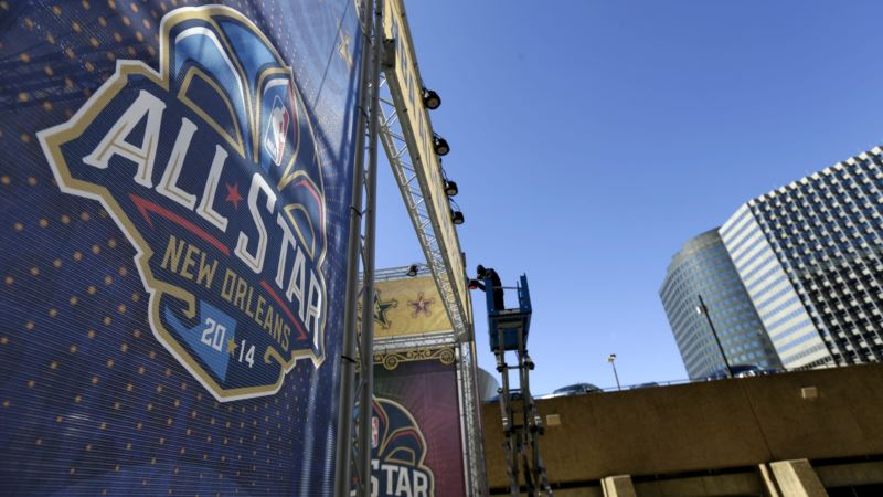 NBA Moves All-star Game to New Orleans