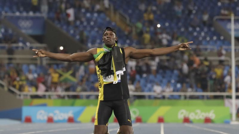Bolt Wins 3rd Gold in Rio, 9th in Olympic Career