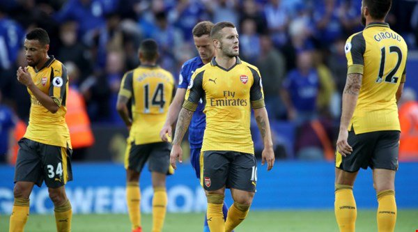 Arsenal fans urge Wenger to splash some cash after a goalless draw against Leicester