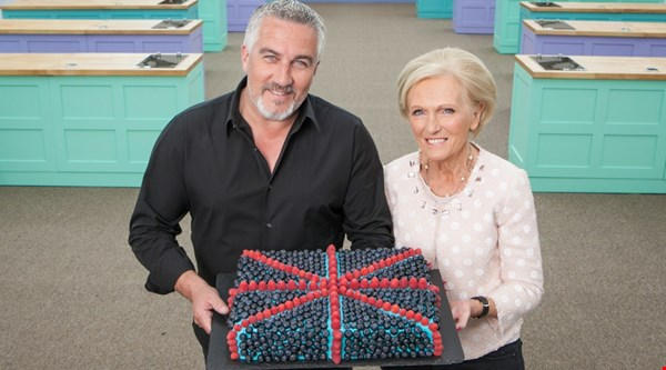 Which Bake Off contestant went back to basics before facing Paul and Mary?