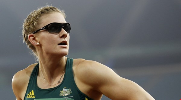 This Australian 100m runner just threw some serious shade at a critic