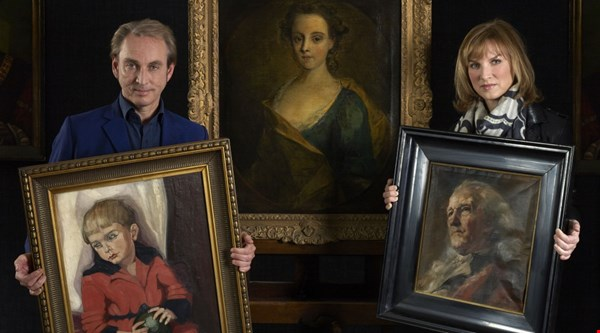 Portrait bought on second-hand goods website identified as lost work on Fake or Fortune