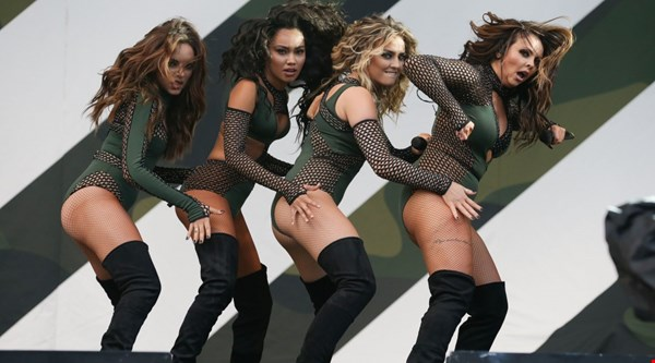 Little Mix set pulses racing on second day of V Festival