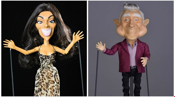 Nicole Scherzinger and Louis Walsh puppets debut in second series of Newzoids