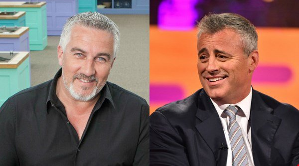 Great British Bake Off star Paul Hollywood challenges Top Gear's Matt LeBlanc to a race