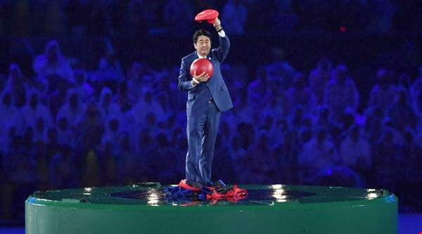 Japan's prime minister appeared as Super Mario at the Rio closing ceremony