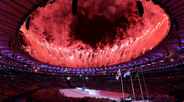 Here's the Rio Olympics closing ceremony in pictures