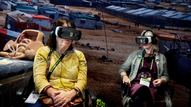 Virtual Reality Has Arrived, But Not for Full-length Movies
