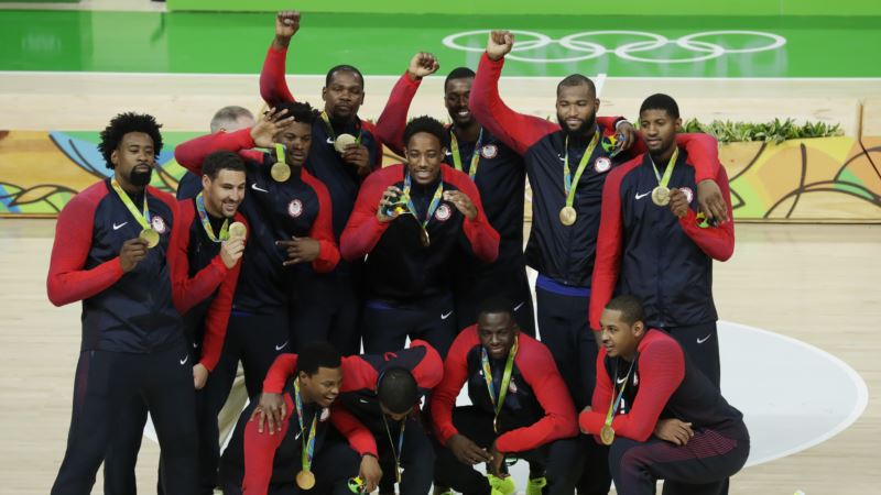 US Men Win Olympic Basketball Gold Over Serbia
