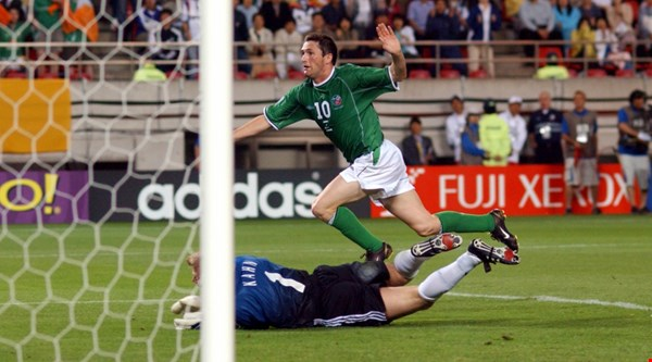 Everyone's remembering *that* goal against Germany as Robbie Keane announces his retirement