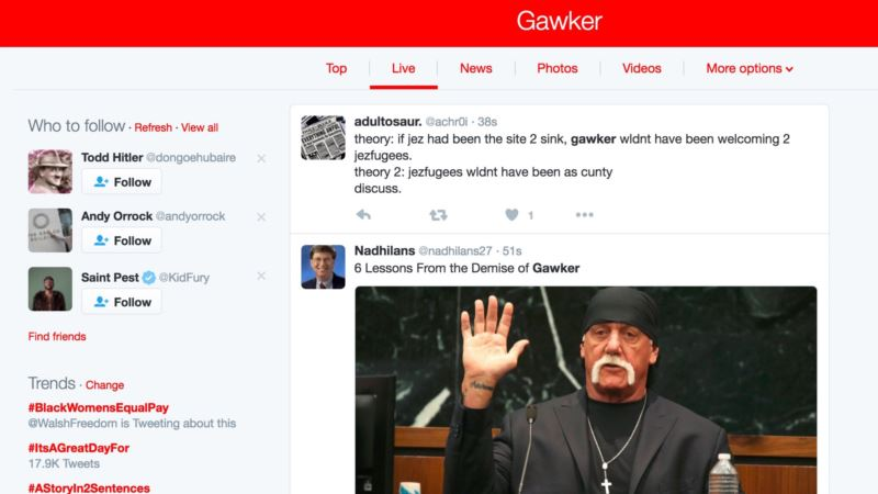 Gawker Tested the Limits of American Media Coverage — and Then Got Caught By Them
