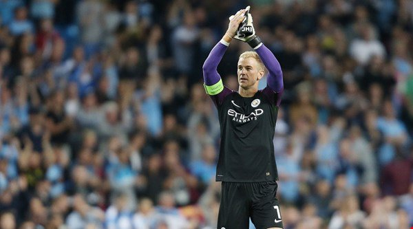 Joe Hart's first (and potentially last) game of the season in a Man City shirt proved emotional for fans