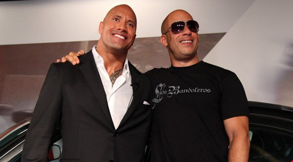 Are The Rock and Vin Diesel planning a fight for WrestleMania?