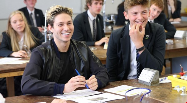 Joey Essex got a GCSE today