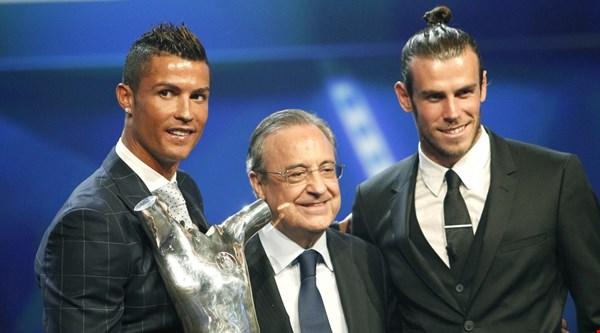 Cristiano Ronaldo beats the competition to win UEFA award