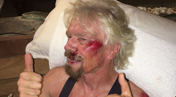 'I really thought I was going to die' – Billionaire Richard Branson in severe biking accident