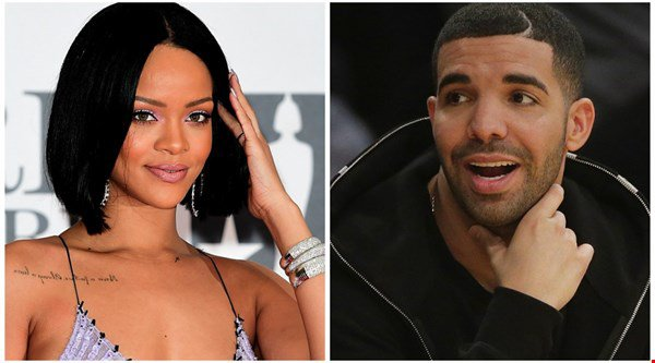 Drake bought rumoured girlfriend Rihanna a congratulatory billboard like it's no big deal